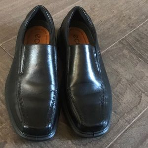 Ecco Shoes - Men's Ecco Leather Dress Shoes Size 40
